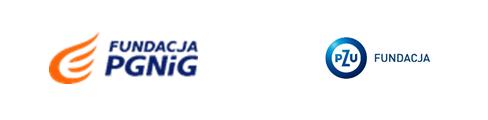 Fundacja PGNiG Fundacja PZU - logotypy