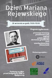 Plakat Dzień Mariana Rejewskiego