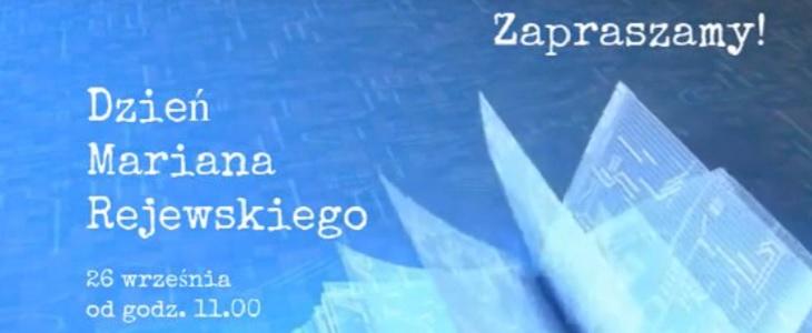 Dzień Mariana Rejewskiego 2020